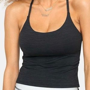 "Outdoor Voices TechSweat Cami tank, ""night"" color."